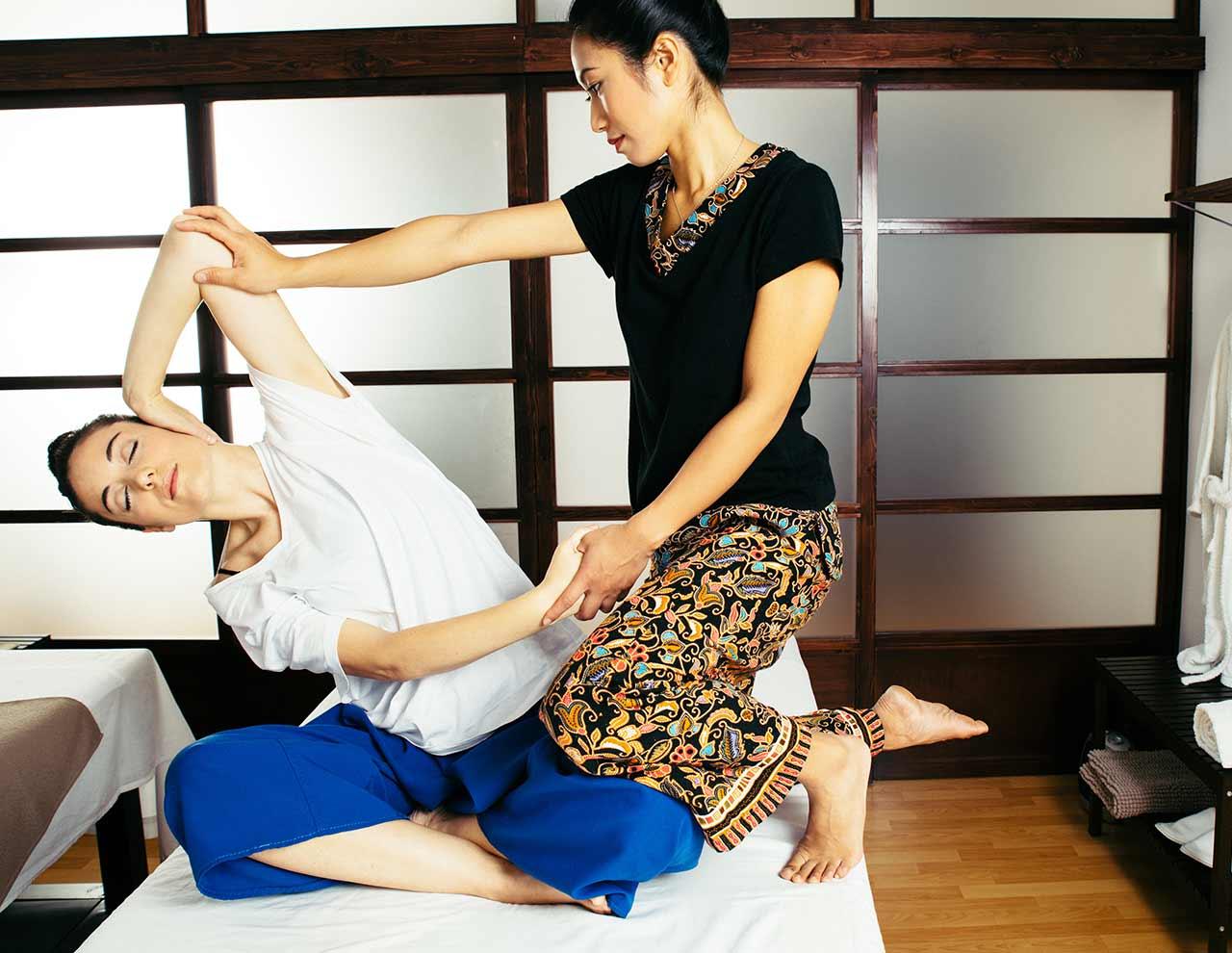 Masaje relajante Kami en nuestro de Centro de masajes orientales en Madrid