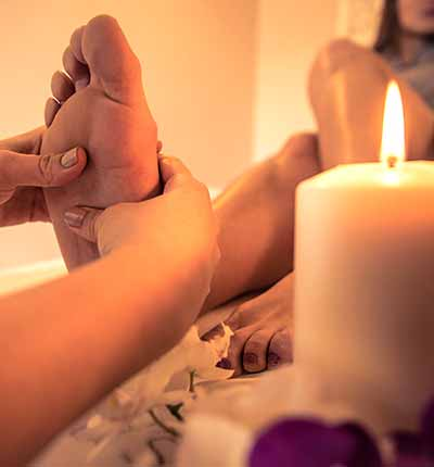 Center of Oriental massage, feet reflexology in Madrid
