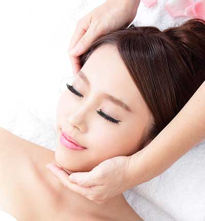 Oriental Massage Center in Madrid, Japanese facial massage