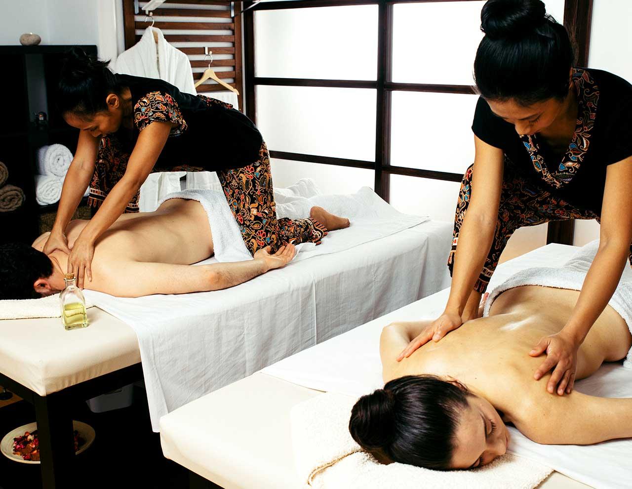 Massage center in Madrid, oriental massages