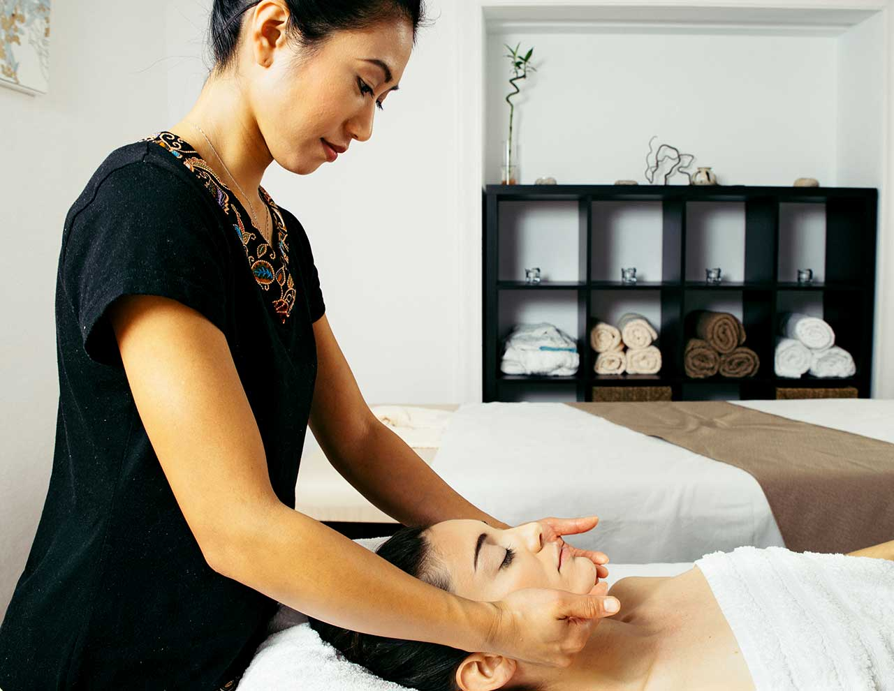 Masajes Orientales, masaje Japonés facial en Madrid