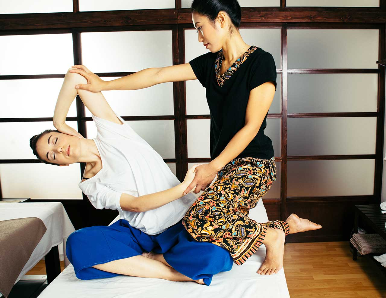 Oriental massage center, traditional Thai massage