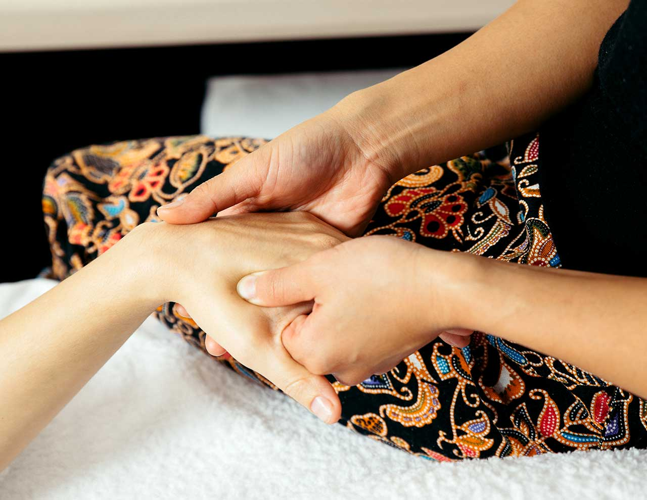 Oriental massages in Madrid, reflexology in Madrid
