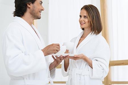 Masajes en pareja para disfrutar planes en Madrid.