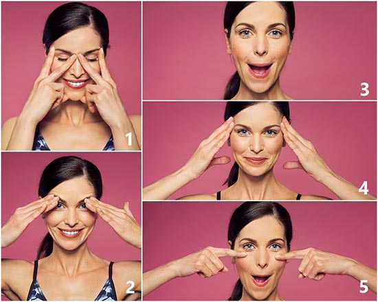 Yoga facial y masaje japonés para la cara, las dos técnicas de belleza natural que mejor funcionan.