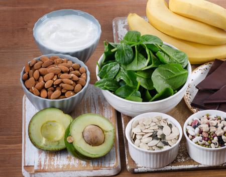 Completa tu rutina de masajes relajantes regulares con alimentación rica en magnesio, selenio, yodo y zinc.