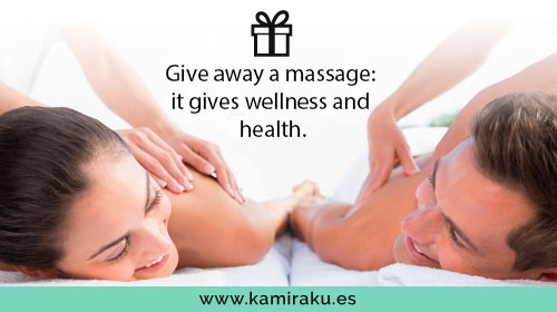Give away a Kamiraku oriental massage