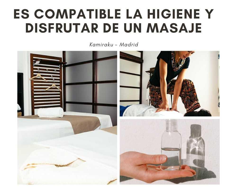 la higiene del centro de masajes es fundamental para la salud y el bienestar personal