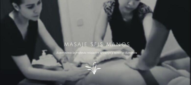 Experimenta la relajación plus con los masajes seis manos de Kamiraku.